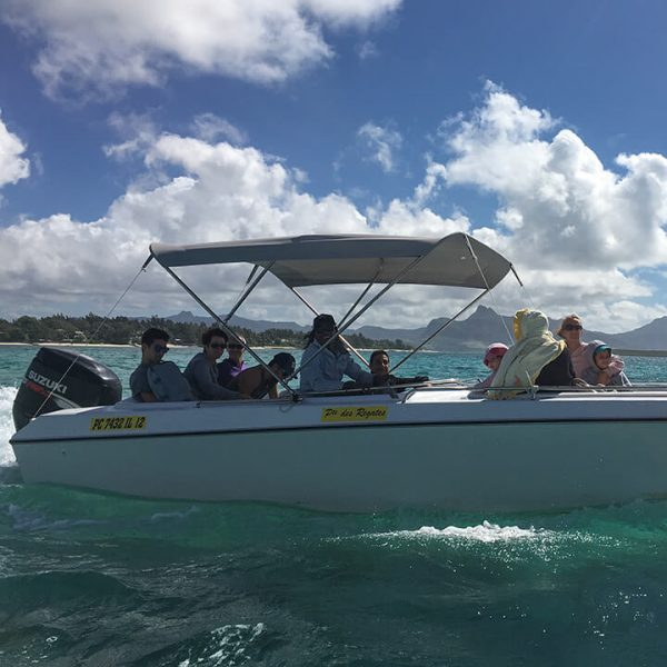totof tours speed boat mauritius