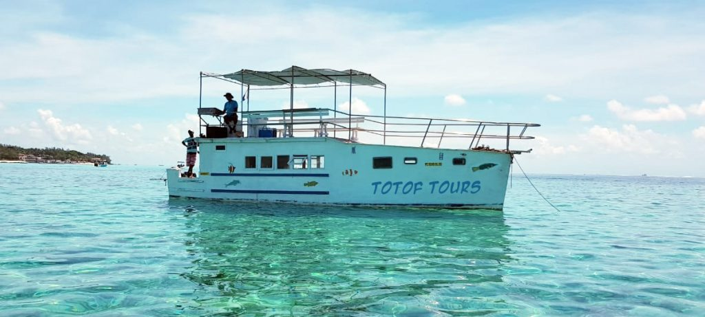 Totof Tours Mauritius Big BBQ Boat