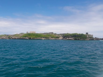 Visiting the fortress island - Ile de la Passe