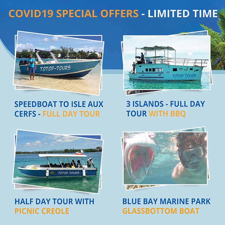 Totof Tours Mauritius covid-19 special offer